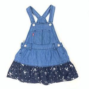 LEVI'S Denim Overall Jumper / Skirt / Dress